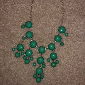 Green Accent Necklace